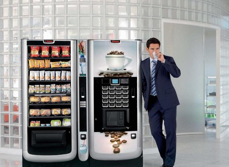 Установка кофейного автомата