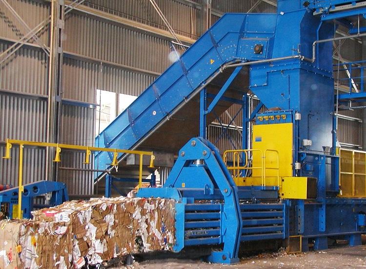 Завод по обработке мусора